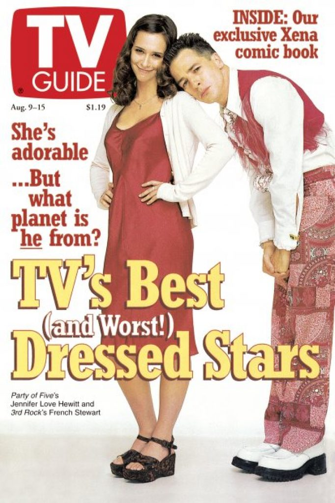 3rd Rock From The Sun - TV Guide Cover August 9, 1997