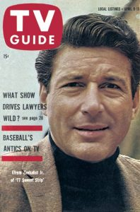77 Sunset Strip - TV Guide Cover April 9, 1960