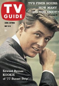 77 Sunset Strip - TV Guide Cover - May 9, 1959