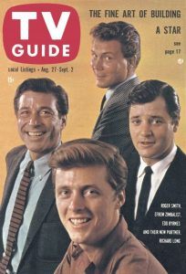 77 Sunset Strip - TV Guide Cover August 27, 1960