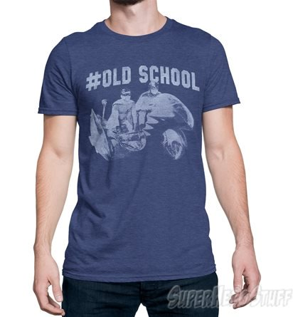 Adam West Batman 66 Old School Men's T-Shirt