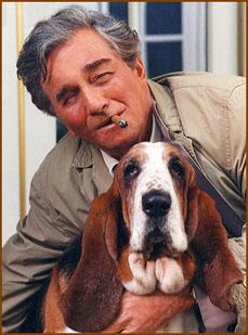 Columbo with Dog