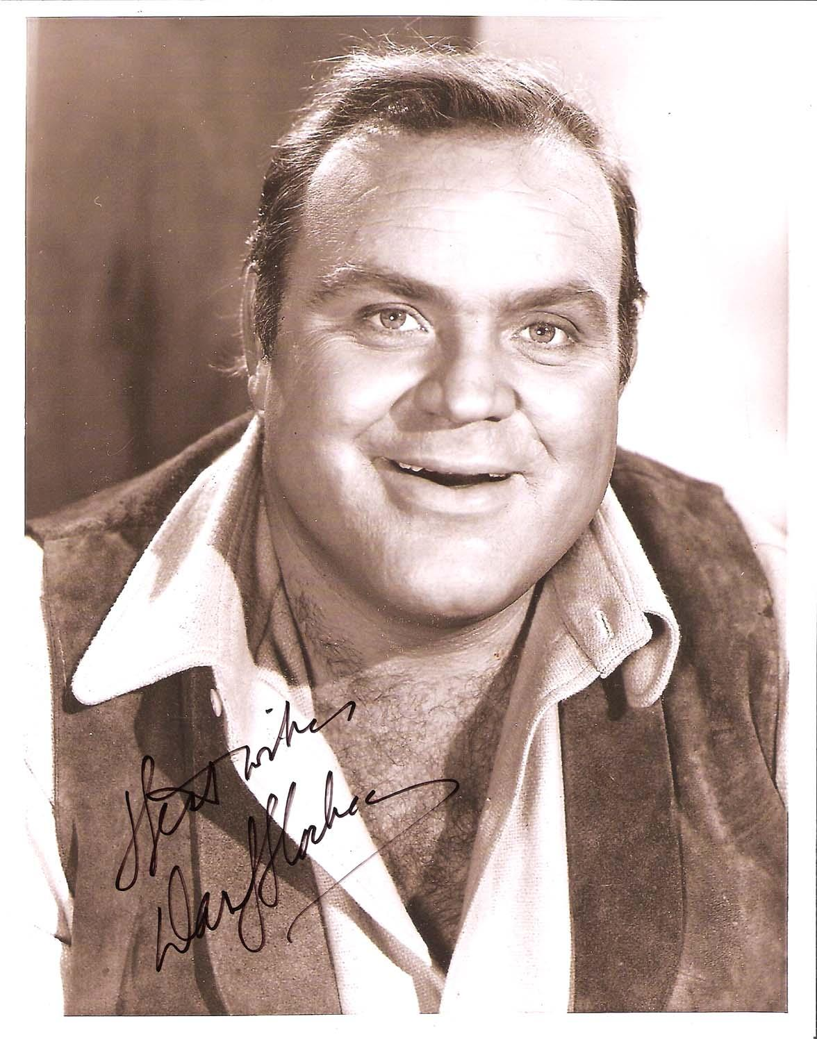 "DAN BLOCKER - Best Known for his Role as ERIC ""HOSS"" CARTWRIGHT on the TV Series ""BONANZA"" Passed Away 1972-Signed 8x10 B/W Photo"