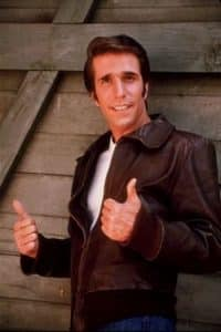 Fonzi from Happy Days