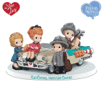 Precious Moments Figurine Inspired By I LOVE LUCY Episode - California Here We Come Precious Moments Figurine
