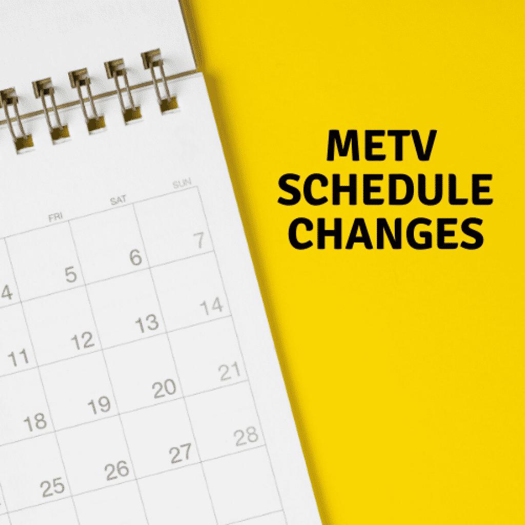 MeTV Winter Schedule 2019