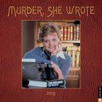 Murder, She Wrote 2019 Calendar