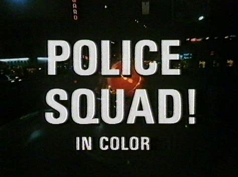 Police Squad TV Show