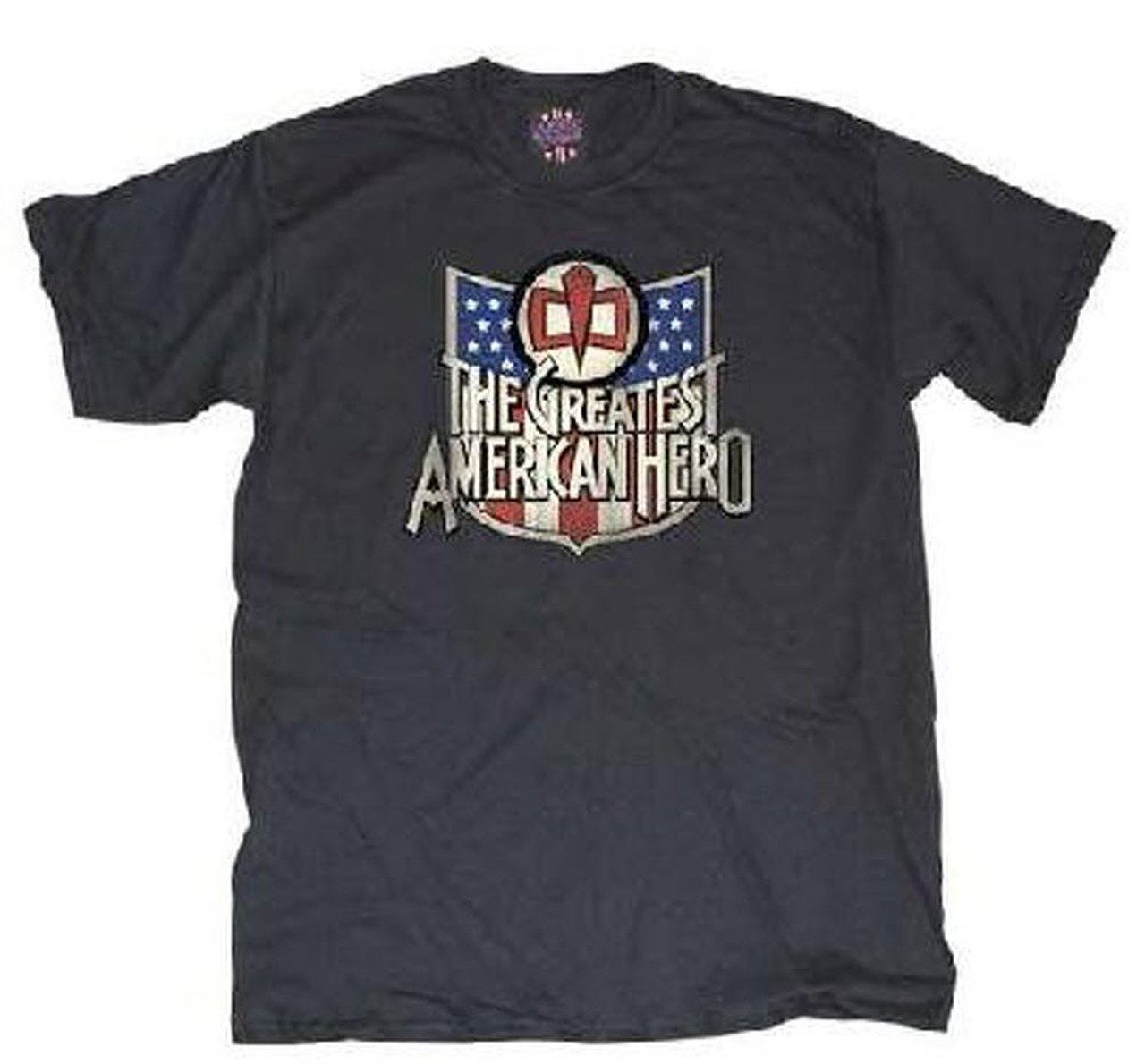 The Greatest American Hero Vintage T-shirt - Black - L