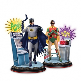 Batman Classic TV Series Illuminated Figurine Collection