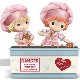 I Love Lucy Figurine: Precious Moments Together We Can Handle Anything Figurine
