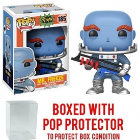 Funko Pop! DC Heroes Batman 1966 TV Series Mr. Freeze Vinyl Figure (Bundled with Pop BOX PROTECTOR CASE)