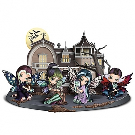 Jasmine Becket-Griffith A Fairy Munsters With Custom Display