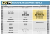 MeTV Winter 2019 Schedule Preview