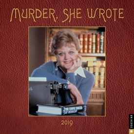 Murder, She Wrote 2019 Wall Calendar
