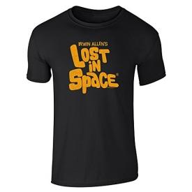 Pop Threads Irwin Allen's Lost in Space TV Show Black XL Short Sleeve T-Shirt