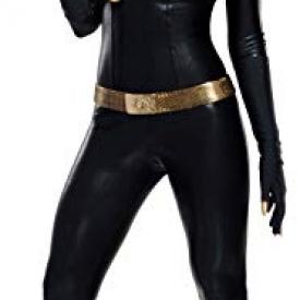 Rubie's Grand Heritage Catwoman Classic TV Batman Circa 1966, Black, Medium Costume