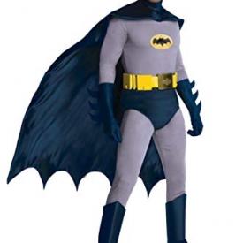 Rubie's Grand Heritage Classic TV Batman Circa 1966, Blue/Gray, Standard Costume