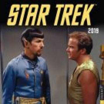 2019 Star Trek Original Series Wall Calendar