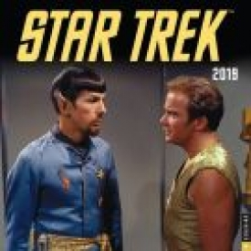 Star Trek Original Series 2019 Wall Calendar