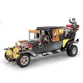 The Munsters Family Hearse-Inspired Koach Musical Sculpture