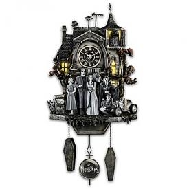 The Munsters Illuminated Musical Wall Clock