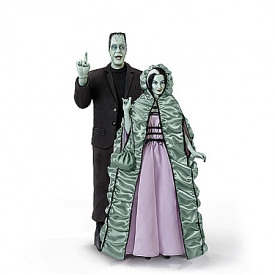 The Munsters Handcrafted Portrait Figure Collection
