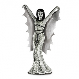 THE MUNSTERS Lily Munster Glass Mosaic Hand-Cast Sculpture