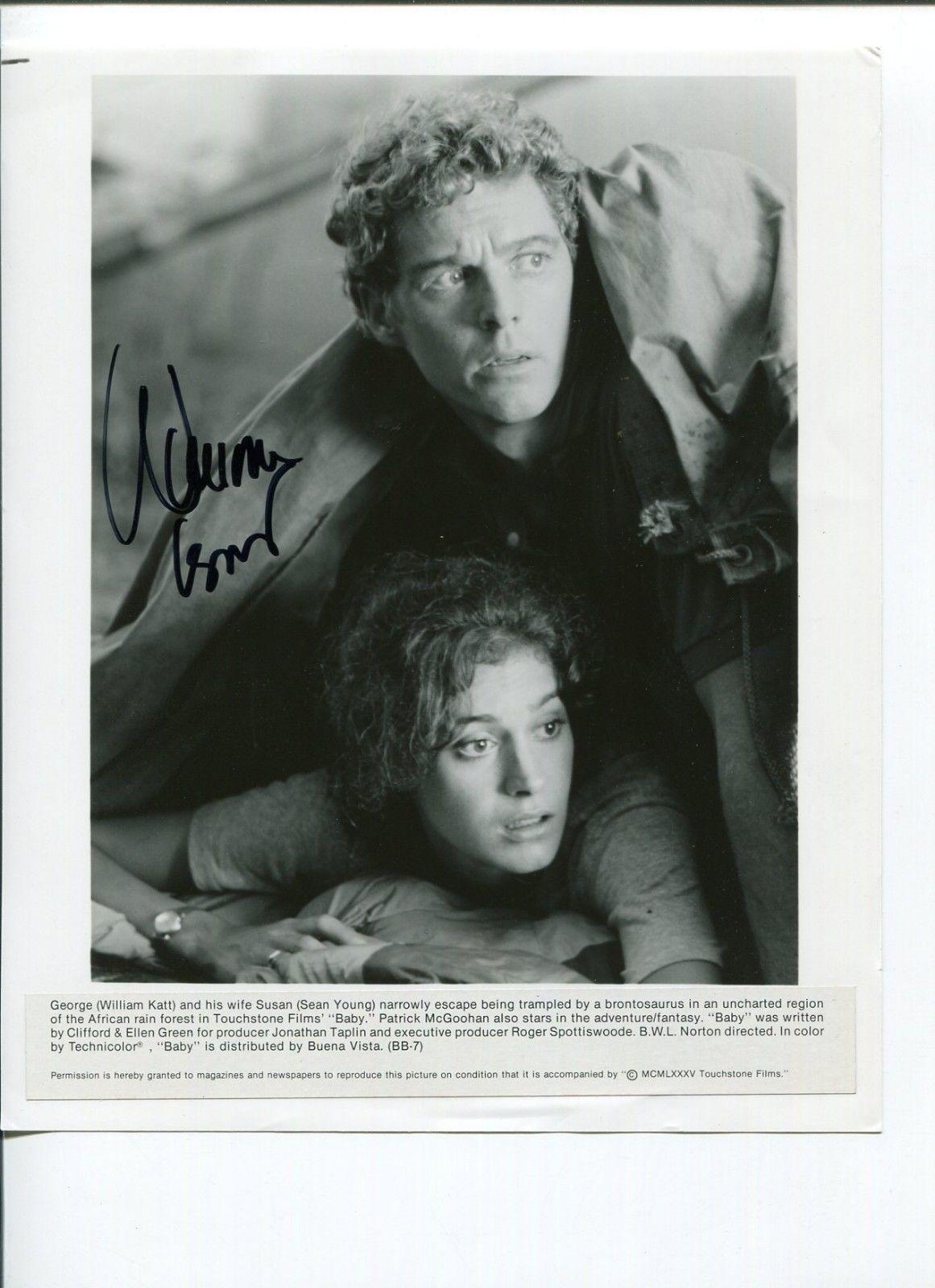 William Katt Baby Greatest American Hero Star Baby Press Signed Autograph Photo